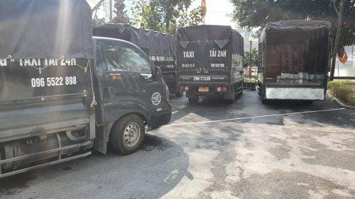 Taxi tải Quận Long Biên